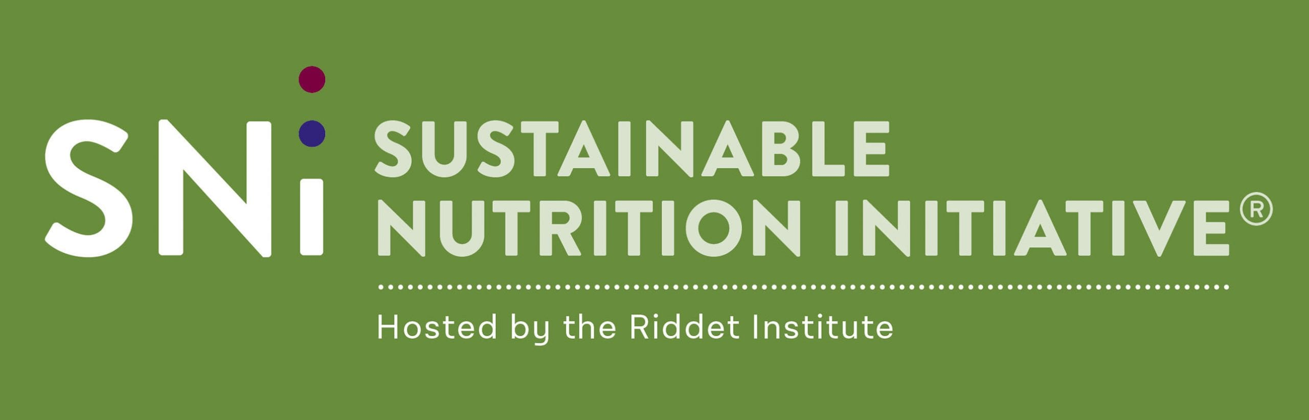 SNI - Sustainable Nutrition Initiative logo